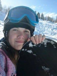 Shay Johnson - Snowboarding Through a Fembot's Eyes