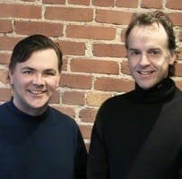 Jim Robinson and Kurt Dommermuth - Founders of KneeBouncers