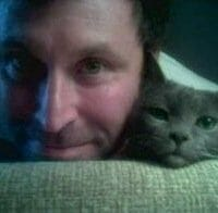 "Mark Moll - Creator of ""It's okay to be a cat guy."""