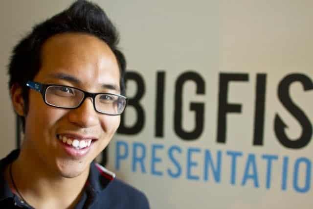 Kenny Nguyen - Founder of Big Fish Presentations