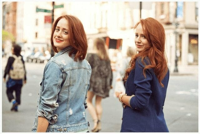 Adrienne and Stephanie Vendetti - Founders of How To Be A Redhead