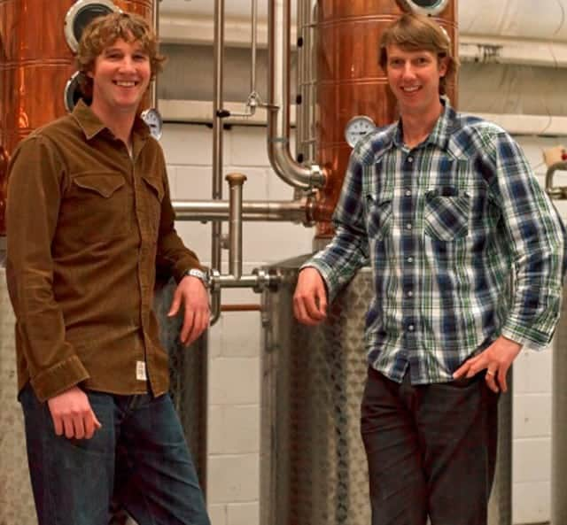 Will and Dave Willis - Founders of Bully Boy Distillers