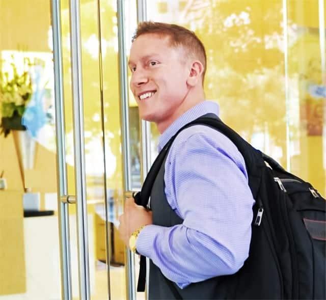 Mark Samuel - CEO & Founder of Fitmark Bags