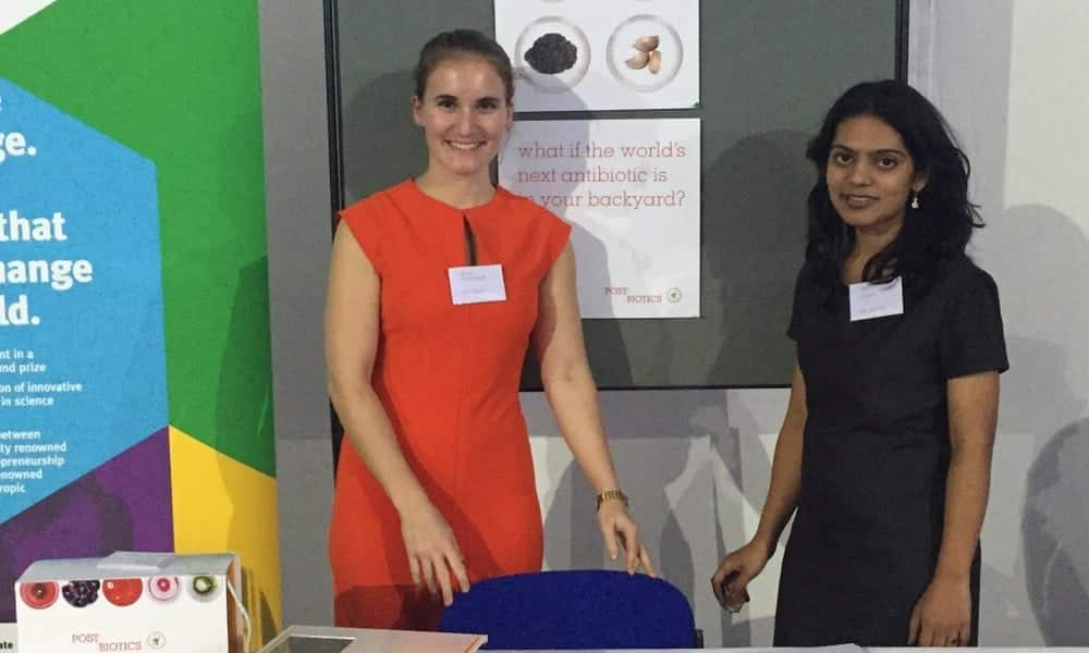Theresa Schachner and Vidhi Mehta - Founders of Post/Biotics