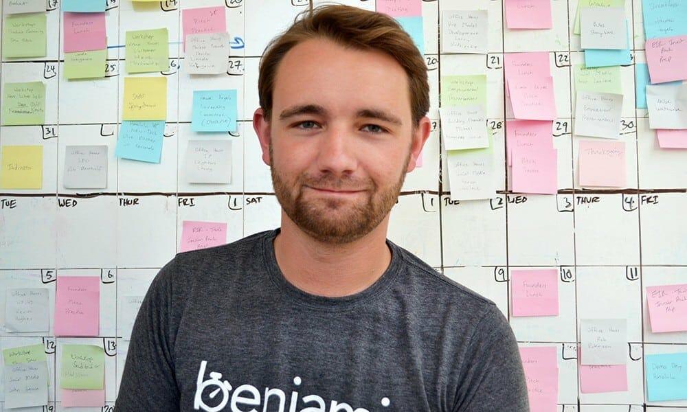 Andrew Chapin - Founder of benjamin